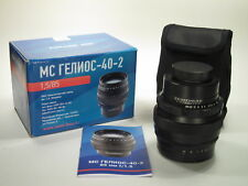 MC Helios-40-2 f/1,5 85 mm portrait lens M42 mount, NEW
