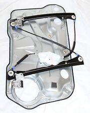 Front Passenger Window Regulator w/Door Panel for VW 00-05 Golf 02-04 Jetta IV