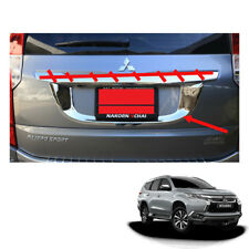 Mitsubishi Pajero Montero Sport License Plate Liftgate Chrome 1pc fit 2016 2017