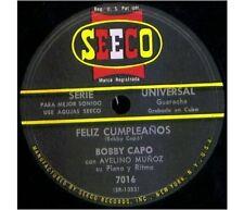 BOBBY CAPO Latin 78 FELIZ CUMPLEANOS /  ANIVERSARIO DE BODAS Bolero Guaracha