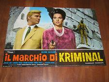 FOTOBUSTA  Il marchio di Kriminal Glenn Saxson Cerchio 1967
