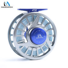 Saltwater Fly Reel Combo 7/8wt Fly Fishing Reel & WF8F Sea Fishing Fly Line