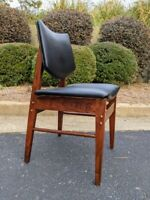 Jens Risom? Refurbished Vintage MCM Walnut Chair C275 'style' side/accent chair