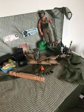 action man With War Fiekd Extras