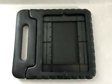 Shockproof Kid Friendly Bumper Case For iPad 2/3/4 - With Handle/Stand - Black