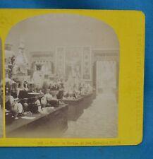 Stereoview Photo 1867 Exposition Universelle 143 Salon De Sevres Leon & Levy