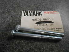 NOS Yamaha Pan Head Screws 75 76 RD125 74 - 76 RD200 Exciter 92501-06060 QTY2