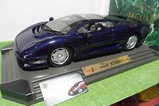 JAGUAR XJ220 Bleu nuit de 1992 au 1/12 MAISTO 33201 voiture miniature