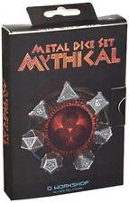 Qworkshop Metal Mythical Dice Set 7