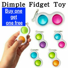 Baby Simple Dimple Special Needs Silent Sensory FidgetToy Autism Classroom Adult