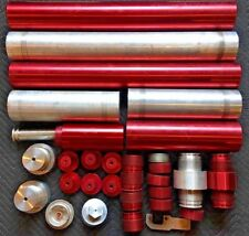 """Lot of Large 32"""" 15000psi Hydraulic Pneumatic Cylinders & More Billet Ram Rescue"""