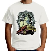 Velocitee Mens Latino Culture T Shirt Lowrider Fashion Pin Up Hispanic A19417
