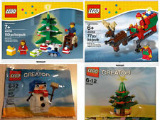 LEGO - DecoratingTree40058+Santa's Sleigh40059+ChristmasTree30186+Snowman30197