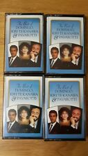 The Best of Domingo Kiri Te Kanawa & Pavarotti - × 4 Cassette