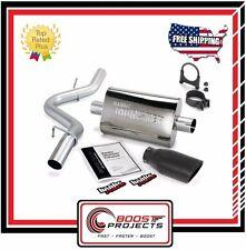 Banks Power Monster Exhaust for Jeep Wrangler 2.5/4.0L Black Tip 1997-99 51312-B