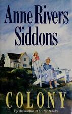 Colony by Anne Rivers Siddons (1992, Hardcover)