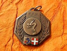 INSIGNE  FEDERATION FRANCAISE  NATATION FFN DAUPHINE SAVOIE SWIMMING    MEDAL
