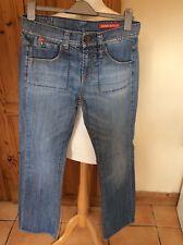 Miss Sixty Zuma Vintage Jeans 27 X 34 Blue