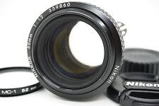 Nikon NIKKOR 50mm F1.2 Ai-S MF messa a fuoco manuale OBIETTIVO STANDARD DAL GIAPPONE #11038