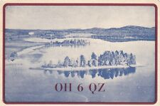 Q111 Carte QSL Radio Amateur Opérateur OH6QZ de Niilo Raisane JYVASKYLA FINLANDE