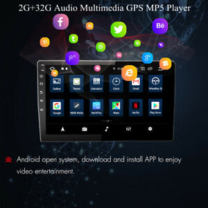 10.1''  Android Touch Screen WiFi 2G+32G Car Stereo FM Radio GPS MP5 Player