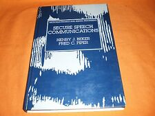 secure speech communications beker-piper microelectronics and signal processing