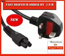 C5 cloverleaf 3 clavijas Mains Reino Unido Cable de alimentación Cable Cable Para Laptop Cargador 2m