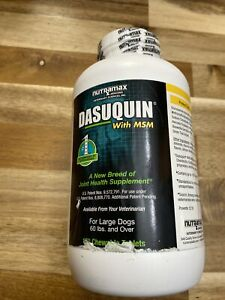 Dasuquin with MSM for Large Dogs (150 Chewable Tablets) NEW 2/2024