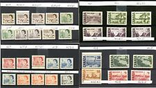 LOT 66524 CANADA  MINT NH CANADIAN CENTENNIAL STAMP COLLECTION WITH VARIETIES