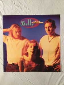 Belly 1993 Promo Poster Star Sire Records Tanya Donelly