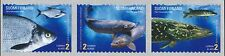 Finland 2003 MNH Stamps (3) - Fishing - Fish - Pike Bream Lake Trout