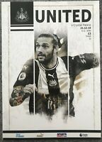 NEWCASTLE UNITED V CRYSTAL PALACE 2019/20