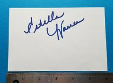 ESTELLA WARREN signed card PLANET OF THE APES autograph Model actress