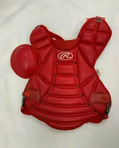 Rawlings CP750-J Softball Catcher's Chest Protector Youth Scarlett