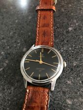 Vintage Omega Seamaster 30 286,1964, 135.007, Slightly Loose Crown Black Dial