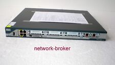 Cisco 2801-V/K9 Voice Bundle Router 384MB/128MB R/F PVDM2-32 + VIC2-2BRI-NT/TE