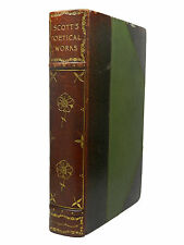 The Poetical Works of Sir Walter Scott, 1894, Riviere Art Nouveau Binding