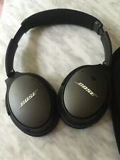 Bose QuietComfort 25 Over the Ear Sound Canceling Headphone Wired - Black/ Grey