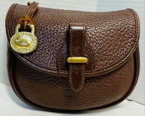 *Dooney & Bourke* AWL *P142*Mini Flap Bag*Crossbody*Brown*21007C S167B