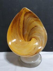 Vintage Alum Bay Art Glass Jack In Pulpit Vase