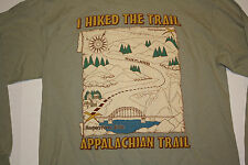 """Vintage Appalachian Trail """"I Hiked the Trail"""" Long Sleeve T-Shirt Harper's Ferry"""