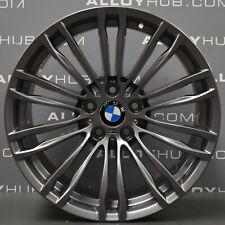 """GENUINE BMW 5 SERIES M5 F10 354M SPORT 19"""" INCH FERRIC GREY ALLOY WHEELS X4"""