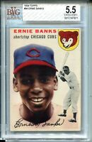 1954 '54 Topps Baseball #94 Ernie Banks Rookie Card RC Graded BVG Ex+ 5.5