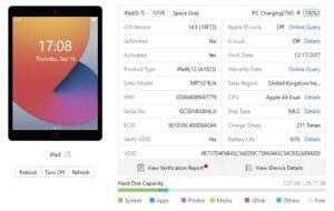 Apple iPad 5th Gen. 32GB, Wi-Fi + 4G Voda, 9.7in - Space Grey - Touch ID - 9874