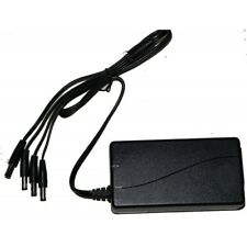 5AMP 12V CCTV Power supply & 4 way splitter for Cameras and DVR & UK power code