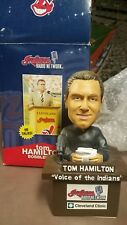 Tom Hamilton Cleveland Indians Limited Edition Talking Bobblehead 2007 SGA