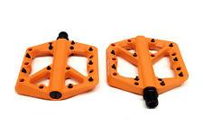 Crank Brothers Stamp 1 Platform Pedals, Small, Orange