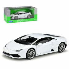 Welly 1:24 Lamborghini Huracan LP610-4 Diecast Metal Model Car New in Box White