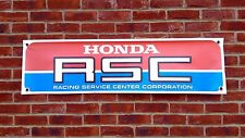 BR14 HONDA RSC RACING BANNER RS850 CB750 CBX RETRO CLASSIC GARAGE WORKSHOP SIGN
