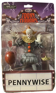 Toony Terrors IT Movie PENNYWISE The Clown 6 Collectible Action Figure NECA